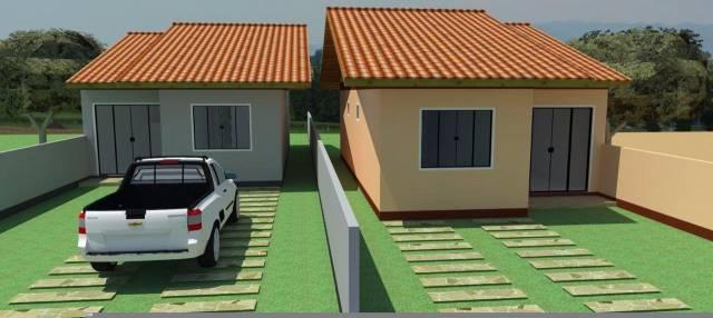 Linda Casa  no Centro de Guabiruba